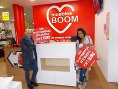 Ayer Emy V. S. y Antonio V. A. se compraron ¡¡¡ POR SÓLO 1 EURO !!! este APARADOR en nuestra tienda de Muebles Boom #CORUÑA (Rúa Francisco Pérez Carballo, 3, A Coruña)