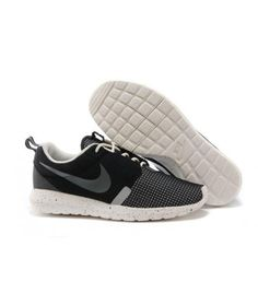 29dda08f637a1 Nike Roshe Run NM BR Coal Black White Sails Noctilucent Shoes Nike Roshe Run  NM Breeze