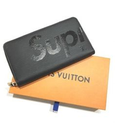 0ba7baad6a9e ルイヴィトン スーパーコピー LOUIS VUITTON × Supreme ジッピーオーガナイザー エピ 黒 M67723 2017年限定