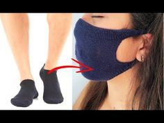 TAPABOCAS SIN MÁQUINA - MAKE FABRIC FACE MASK AT HOME - DIY FACE MASK NO SEWING MACHINE - YouTube