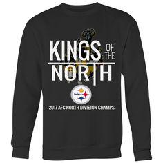 Kings Of The North Pittsburgh Steelers Crewneck Sweatshirt (5 Colors) e1b019da3