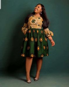 HOTTEST AFRICAN ANKARA SHORT GOWN DESIGNS 2019