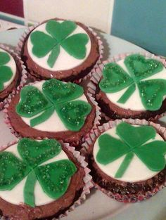 Vickys St Patricks Day Guinness Cupcakes, Gluten, Dairy, Egg & Soy-Free