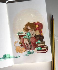 Hermione Granger by Simona Bonafini
