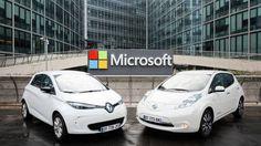 Renault-Nissan e Microsoft se unem por carros conectados