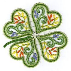 Cliquer pour fermer Lace Heart, Love Hug, St Pats, Four Leaf Clover, Lace Making, Bobbin Lace, Lace Flowers, String Art, Free Crochet