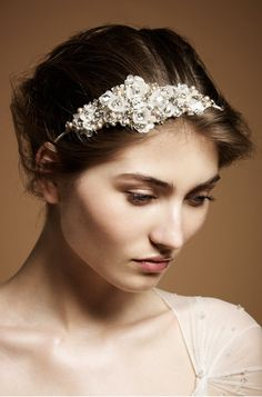 Jenny Packham 2012 Accessories Collection Camellia Bridal Headdress