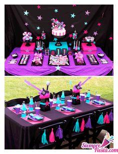 Increíbles ideas una fiesta de cumpleaños de Monster High. Encuentra todos los artículos para tu fiesta en nuestra tienda en línea: http://www.siemprefiesta.com/fiestas-infantiles/ninas/articulos-monster-high.html?utm_source=Pinterest&utm_medium=Pin&utm_campaign=MonsterHigh