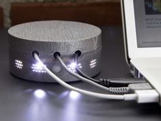 Lighted Cord Organizer, $20 | 31 Clever Tech Gifts You Might Want To Keep For Yourself