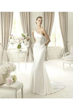 wedding dress - Style pronovias Ugarte Satin Beading A-Line