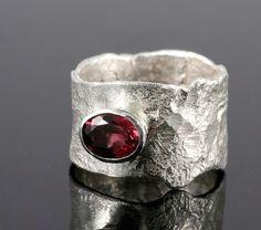 Ring, Wide Organic by Disa Allsopp