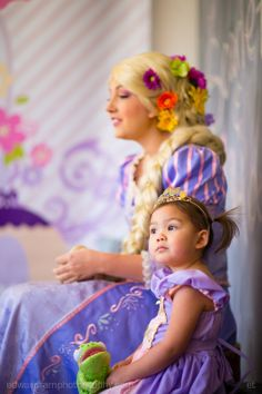 Rapunzel from The Cinderella Company