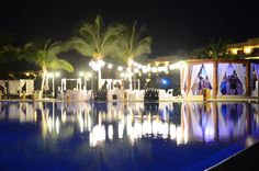 Secrets Maroma Beach  - The dance floor was set up inside the Gazebo!