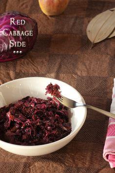 Red Cabbage Side Recipe www.masalaherb.com