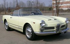1958Alfa Romeo 2000 Spider Carrozzeria Touring Superleggera Maintenance/restoration of old/vintage vehicles: the material for new cogs/casters/gears/pads could be cast polyamide which I (Cast polyamide) can produce. My contact: tatjana.alic@windowslive.com