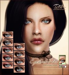 High definition eyeshadow N5 for The Sims 4