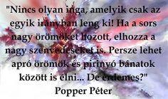 Popper Péter Quotes, Quotations, Quote, Shut Up Quotes