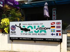 DIVING IN KRABI WITH AQUA VISION DIVE CENTER