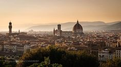 Florence from Piazzale Michelangelo http://ift.tt/1PwaAJe View from Piazzale MichelangeloCattedrale di Santa Maria del FioreFlorenceItalyPalazzo VecchioPiazzale Michelangelocathedralcityduomoeuropefirenzeitaliasunsettraveltuscany