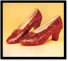THE WIZARD OF OZ - The red shoes
