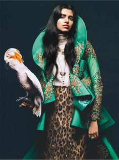 CulturalCollision  Vogue India October 2016    www. vogue .in    Photography: Bharat Sikka   Model: Pooja Mor   Styling: Anaita ...