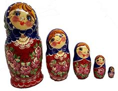 Russian Nesting Eggs | ... Nesting Dolls, Lacquer Eggs, Russian ceramics and Christmas Ornaments