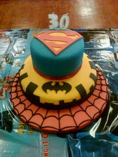 Birthday cake - just need him to tell me which three characters you want