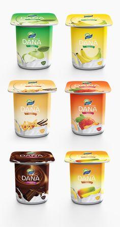 Dana yogurt by Ahmed Ali, via Behance