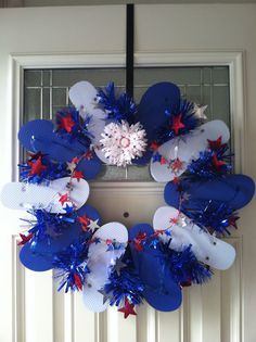 1000 Images About Patriotic Flip Flop Wreaths On Pinterest Flip Flop Wreaths Flip Flops And