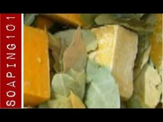 The Culture of Soap Making {making Aleppo soap} - YouTube