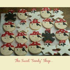 Pirate sugar cookies Gingerbread Cookies, Sugar Cookies, Sweet, Shop, Desserts, Gingerbread Cupcakes, Ginger Cookies, Deserts, Dessert