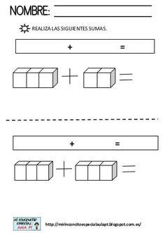 Regletas sumas Preschool Worksheets, Preschool Activities, Math U See, Sumo, Montessori Math, All Schools, Homeschool, Lettering, Maths