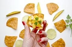 A rushed day with a need for tortilla chips. So I dipped into my stock of Manomasa Chipotle and Lime flavour. Mango Salsa Recipes, Tortilla Chips, Tacos, Mexican, Cooking, Ethnic Recipes, Party, Food, Kitchen