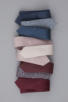 Exclusively designed in partnership with BHLDN to match perfectly with its blush pink bridesmaid collections. Ties for $25 at www.TheTieBar.com