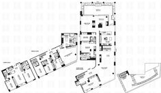 Halstead Property | Floorplan for 1965 Broadway PH3BC - $36,500,000
