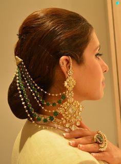 17 Polki Jadav Earrings For Every Occasion Indian Jewelry Earrings, Jewelry Design Earrings, Indian Wedding Jewelry, Ear Jewelry, Tikka Jewelry, Chain Earrings, Bridal Earrings, Bridal Jewelry, Biker Chick