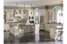 Grey Stone Glaze Kitchen Cabinets Product Image