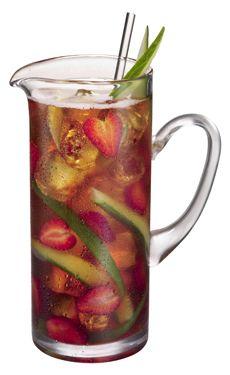 Sake berry punch, simple, fruit filled.