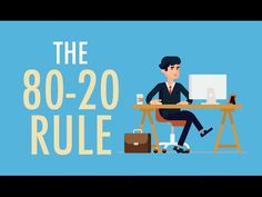Improve Your Productivity With the 80/20 Rule - YouTube