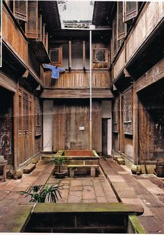 Courtyard of a 200 year old Chinese home, reassembled in the Peabody Essex Museum in Salem, MA; I'm thrilled to be invited to offer a craft at their CNY celebration on 2/28/15! www.luckybamboocrafts.com