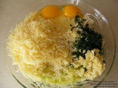 Dulciuri si nu numai: Chiftelute de dovlecei la cuptor Tzatziki, Grains, Rice, Eggs, Breakfast, Food, Morning Coffee, Essen, Egg