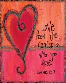 love from the center...