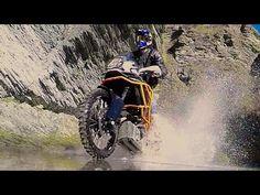 KTM1190 Adventure R Red Bull Athlete Chris Birch cuts loose