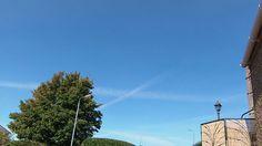 Saltire in the sky