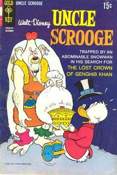 uncle scrooge Comic Book Covers | Walt Disney's Uncle Scrooge #84 comic book from Gold Key Comics