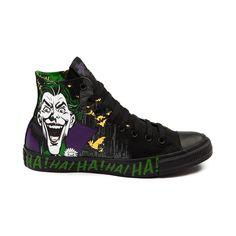 49d636f02551 Converse Chuck Taylor The Joker Sneakers Dc Comics Shoes Batman Clown New  Rare