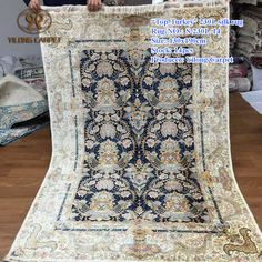 Handmade Silk Carpets & Rugs from Yilong Carpet factory.#art #handmadepersiansilkrug #persiandesignsilkrug #handmaderugs #egypthandmaderugs #handmadewoolrugs #handmademodernsilkrugs #handmadewoolrug #handmadeturkishrugs #100%woolhandmaderugs #handmadecarpet/rugs #handmadesilkrugs #handmadepersianrugs