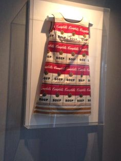 Our hotel doubles as an gallery. Throughout the hotel, you will find original art from both local artists and well-known names. This Campbell's Soup Dress in our elevator lobby is an Andy Warhol. Elevator Lobby, Andy Warhol, Local Artists, Boston, Original Art, Art Gallery, Soup, Names, The Originals