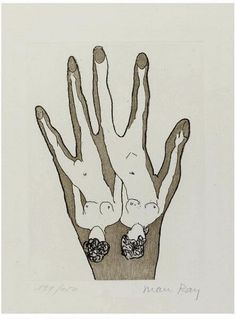 Man Ray. a brilliant but bizarre man...love his work in all mediums but this sketch is one of my favorites