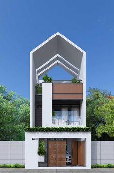 modern minimalist house design ideas for your 16 > Fieltro. Contemporary House Plans, Modern House Plans, Modern House Design, Rustic Contemporary, Modern Minimalist House, Minimalist Architecture, Architecture Design, Narrow House Designs, Design Exterior